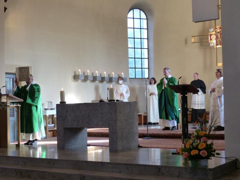 9. Geburtstag des Pfarrverbands Laim - Festgottesdienst in St. Ulrich (Bild: U.Koller)