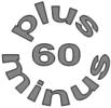 Logo - 60 plus-minus