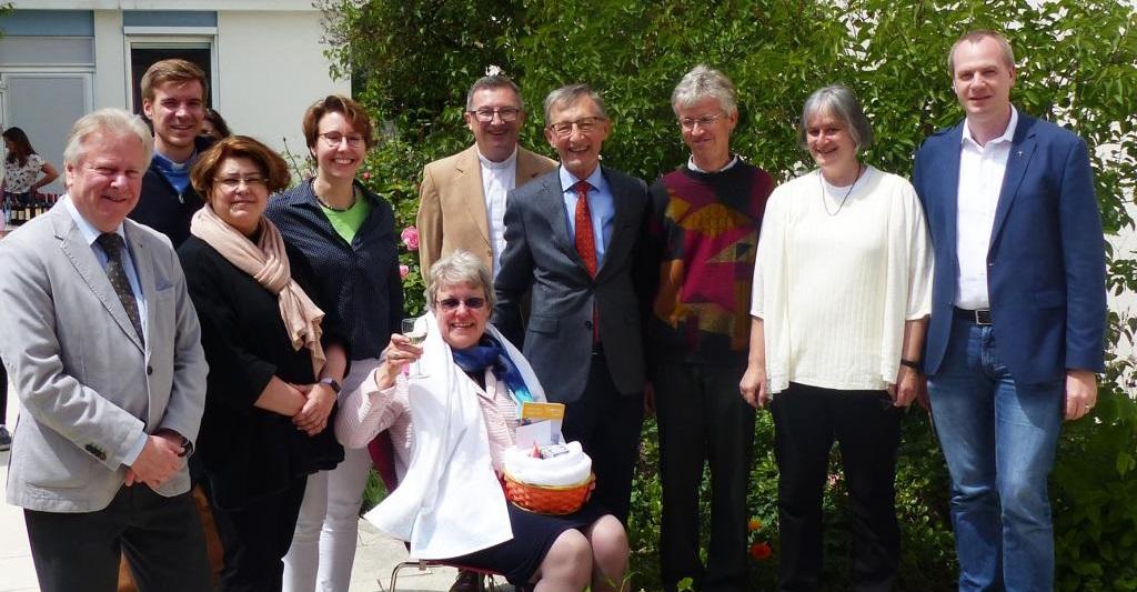Abschied von Pastoralreferentin Birgit Gammel am 26. Mai 2019 (Bild: U.Koller)