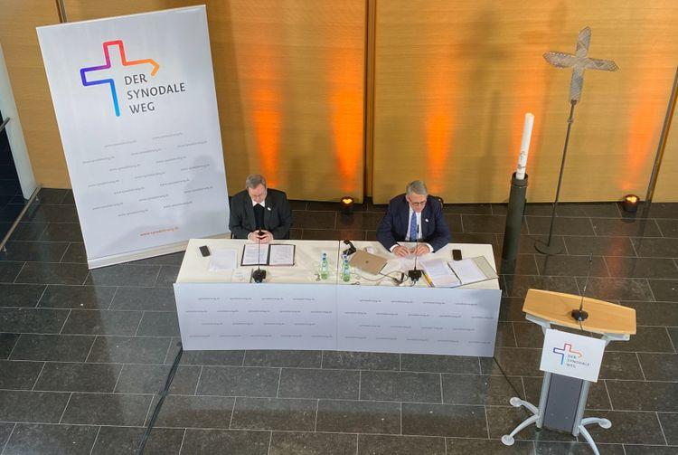 Synodaler Weg - Regionenkonferenz am 4./5. Februar2021 (© Synodaler Weg/Rosner)