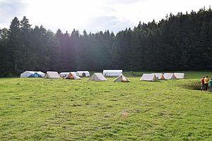 Das Sommerzeltlager St. Philippus