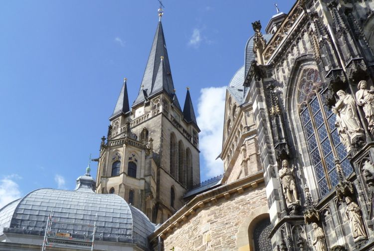 Der Kaiserdom in Aachen - Bild: Pfarrvikar Ralph Regensburger