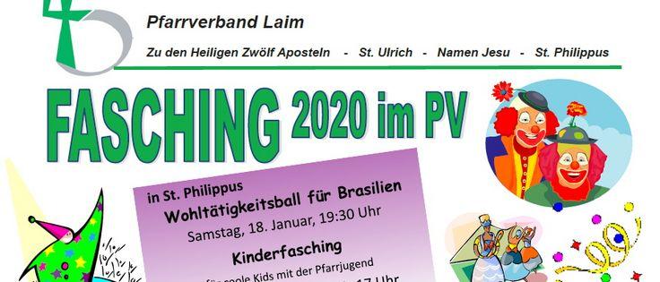 Fasching 2020 im Pfarrverband Laim