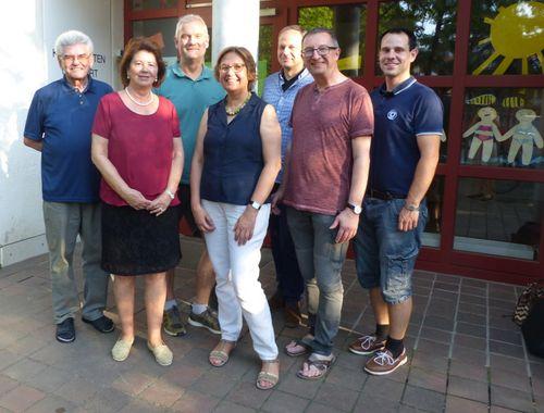 Mitglieder des Kita-Verbundausschusses im Pfarrverband Laim