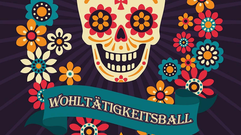 Wohltätigkeitsball der Pfarrjugend St. Philippus, Motto: Dia De Los Muertos