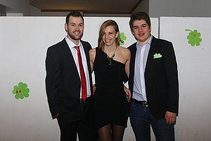 Die aktuelle Pfarrjugendleitung (2015-2017): Timo Föhr, Tanja Ackstaller und Martin Kirsch (von links nach rechts)