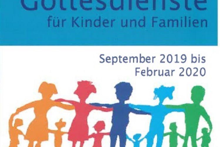 Kinder- und Familiengottesdienste im Pfarrverband Laim von September 2019 bis Februar 2020